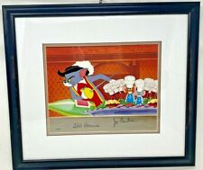 """Rare Signed Tom and Jerry Limited Edition Animation Cel """"The Two Mouseketeers"""""""