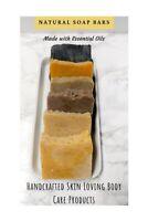 Handmade Soap Bars, All Natural Herbal Soap, Shaving Bar Soap, Shampoo Bar
