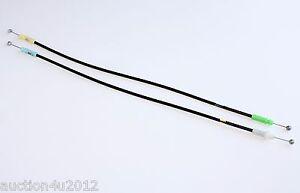 08 -12 Scion xD Rear door latch Lock actuator Handle Cable / OEM Set of 2