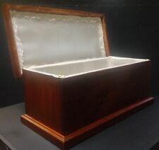Caja De Madera Perro Mascota urna Cremación Cenizas Ataúd /& lápida azulejo rojas setter