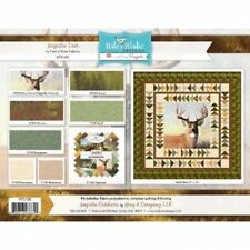 Majestic Outdoors Quilt Kit Deer Riley Blake fabric for top, pattern, Binding,