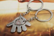 New Couple I Miss You Keychain Key Ring Keyring Couple Key Chain Gift-UK Seller