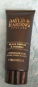Baylor & Harding  Black Pepper & Ginseng Aftershave Balm 200ml