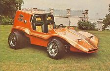 Vintage Chuck Miller Bugs Buggy Show Hot Rod Photo POSTCARD Dune VW Volkswagon