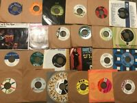 "Lot of 50-70s Rock Pop Jazz (16) NM Records 7"" Single 45 rpm Jukebox w/ Sleeves"