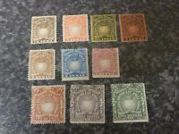 BRITISH EAST AFRICA POSTAGE & REVENUE STAMPS SG4,6-9,12,14,16-19 MM & LMM