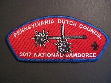 """BOY SCOUTS  NATIONAL SCOUT JAMBOREE 2017 """" PENNSYLVANIA  DUTCH COUNCIL"""" PATCH"""