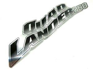 NOS Véritable Sym Quad Lander 250 Coté Gauche Corps Housse Rayure 87131-RB1-000