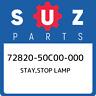 72820-50C00-000 Suzuki Stay,stop lamp 7282050C00000, New Genuine OEM Part