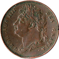 More details for 1822 farthing of george iv.  - extra fine details  #wt2042