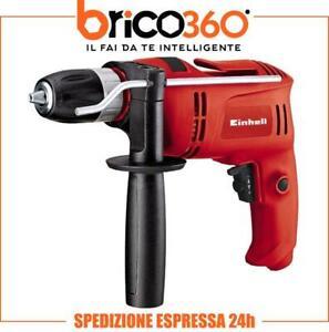 EINHELL TRAPANO AVVITATORE A PERCUSSIONE 650W REVERSIBILE TC-ID 650 E