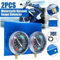 Moto Carburador Combustible Vacío Cilindro Calibre 2 Piezas Diagnóstico Tools