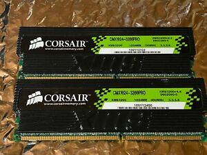 Corsair XMS PRO DDR-3200 1GB x 2