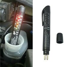 Car Brake Fluid Tester LED Display Bike Safe Brakes Liquid Oil Check Pen Tool