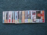 1960 TOPPS BASEBALL STARTER SET LOT 50-Different, EX+, w/STARS,RC's,HIGH-NUMBERS