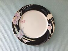 "Mikasa Charisma Black China Dinnerware Chop Plate Platter L9050 12"" NEVER USED"