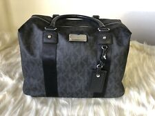 Brand New Authentic Michael Kors Travel Weekender Black Bag