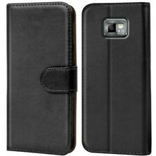 Book Case for Samsung Galaxy S2 Case Flip Cover Mobile Phone Protective Case