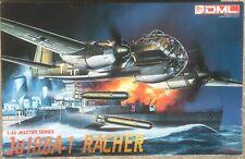 Junkers Ju-188 A-1 Racher, German Bomber, DML 1/48