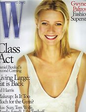 GWYNETH PALTROW W Magazine 12/98 DANIEL BOULUD ED HARRIS PC