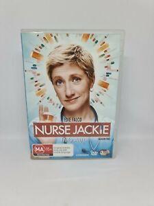 NURSE JACKIE Season Two DVD Region 4 TV Show Very Good Condition Free Shipping
