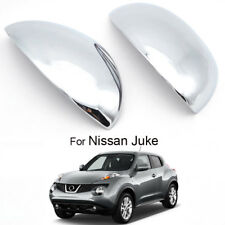 Fit For Nissan Juke 2011-2014 2Pcs Chrome Wing Rear view Mirror Trim Covers