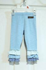 Matilda Jane Infant Girl's Size 6-12M ~Just A Believer Legging~ Blue Ruffle