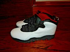 NEW - NIKE AIR JORDAN Men's Size 9.5 Basketball Shoes Black & White Red