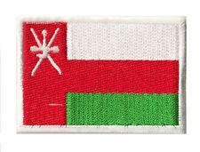 Ecusson coudre patche patch drapeau Sultanat d'OMAN 70 x 45 mm brodé