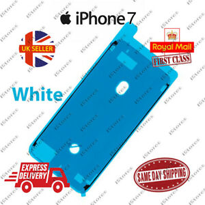 White iPhone 7 LCD Screen Frame Adhesive Waterproof Seal Sticker Replacement