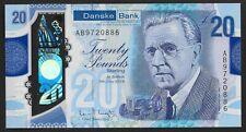 More details for 4) gb danske bank polymer £20 twenty pound note. bank fresh.