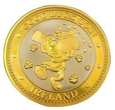 Good Luck Leprechaun Collectors Coin