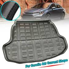 Cargo Liner Boot Tray Trunk Floor Mat For Toyota Corolla 4door E210 2019 2020