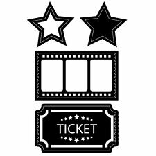 Movie Stubs And Tickets Dies Darice for Cardmaking,Scrapbooking, etc