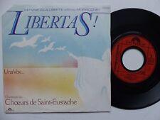 CHOEURS DE SAINT EUSTACHE ENNIO MORRICONE Libertas Una vox 2056863 FRANCE  RRR