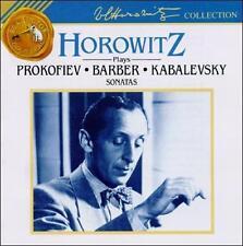 , Horowitz plays Prokofiev, Barber, Kabalevsky Sonatas, Excellent