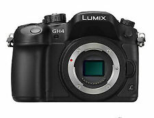 Panasonic Lumix DMC-GH4 Mirrorless Camera Body, Black - Brand New