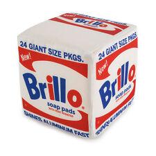 "Kidrobot x Andy Warhol WHITE BRILLO BOX MEDIUM 5"" PLUSH New With Tags"