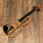 Geneva GVE-1903 Pro Zebrawood Electric Violin Outfit for sale