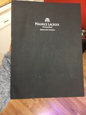 MAURICE LACROIX Swiss Watch Masterpiece Collection Tomorrow's Classics Catalog