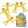 Stretchy Men Bendy Smile Man Birthday Party Loot Bag Children Toy UK Stockist