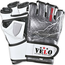 VELO MMA Gloves Boxing Grappling Punching Bag Training Martial Arts Sparring UFC