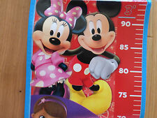Disney Junior Height Chart 150cm with Photo Pockets Mickey Minnie Pirates etc
