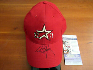 ROGER CLEMENS 7 CY YOUNGS ASTROS RED SOX SIGNED AUTO 7 CY ASTROS CAP HAT JSA