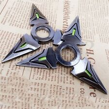 Big Sale !! 2Pcs Set Hand Spinner EDC Metal Bearing Fidget Toy Genji Toys Black