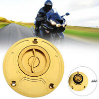 Universal CNC Motorcycle ATV Gas Fuel Tank Cap Cover Valve Breather For 37-39CM