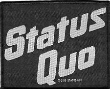 Status Quo - Logo sew on patch