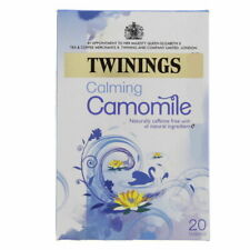 Twining's Calming Camomile 20 Teabags Caffeine Free All Natural Ingredients