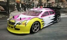 Pink Sedan Nitro RC On-Road Touring Car 4WD 2-Speed 50+MPH RTR 2.4Ghz