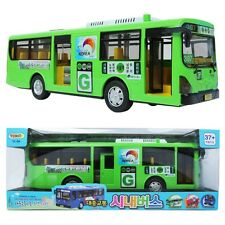 Green-Transit Bus Korea Seoul Bus Toy Sound Lite full back